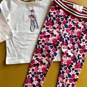 NWT Janie & Jack Shirt/Pant Set